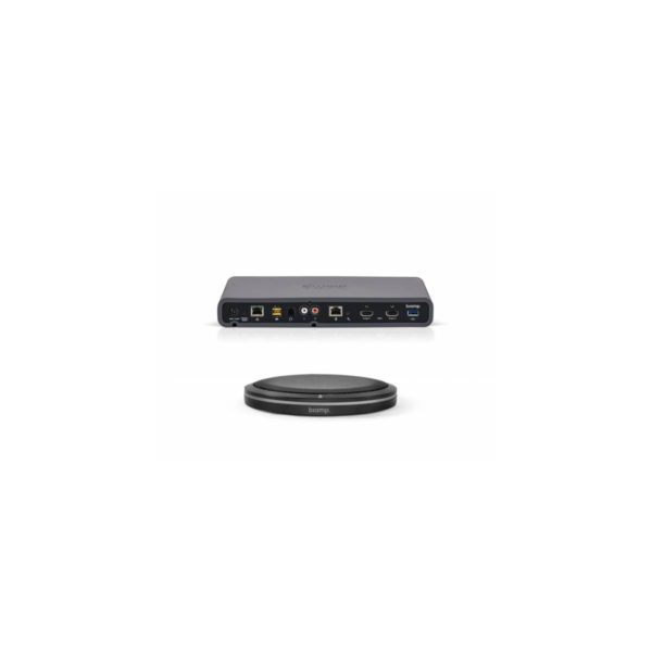 DEVIO SCR-25TX zwart Biamp videoconference, beamtracking, bring your own device